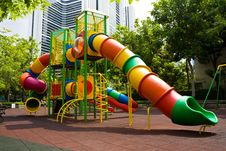 Free Playground In The Park Royalty Free Stock Image - 20303666