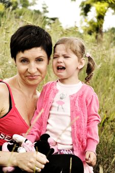 Free Mother And A Daughter Royalty Free Stock Photo - 20303815