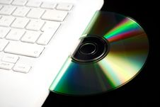 Free Cd In A Notebook Stock Images - 20304174