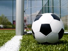 Free Soccer Ball 2 Royalty Free Stock Images - 20304529