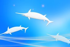 Free Dolphin Graphics. Stock Image - 20304751