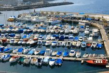 Free Boats Parking In Jetty Stock Image - 20305221