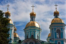 Free St. Nicholas Cathedral In Saint-Petersburg, Russia Royalty Free Stock Images - 20306319