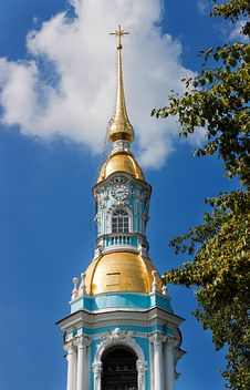 Free St. Nicholas Cathedral In Saint-Petersburg, Russia Stock Image - 20306331