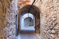 Free Arches In The Village Of Mesta In Chios Royalty Free Stock Image - 20306576