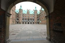 View On Danish Frederiksborg Palace Royalty Free Stock Images