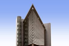 Free A Modern Triangular Office Block Royalty Free Stock Image - 20307166