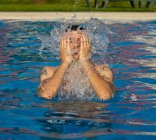 Free Swimming Royalty Free Stock Photography - 20307307