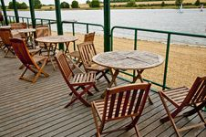 Free Cafe By Waters Edge Stock Photos - 20307453