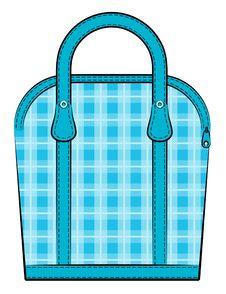Free Cartoon Vintage Woman S Bags. Royalty Free Stock Image - 20307496