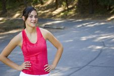 Free Young Woman Runner Royalty Free Stock Photo - 20307665