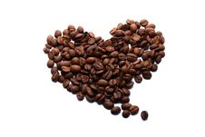 Free Coffee Heart Royalty Free Stock Photo - 20307755