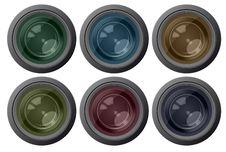 Free Set Color Camera Lens Stock Image - 20307921