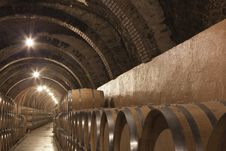 Free The Wine In The Cellar Stock Photography - 20308122