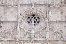 Gothic Facade Stock Photography