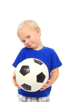 Free Little Soccer Player Royalty Free Stock Photos - 20308928