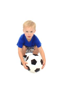 Free Little Soccer Player Stock Image - 20308931