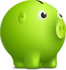 Free Vector Moneybox Stock Photo - 20309310