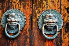 Free Knocker Royalty Free Stock Photos - 20309518