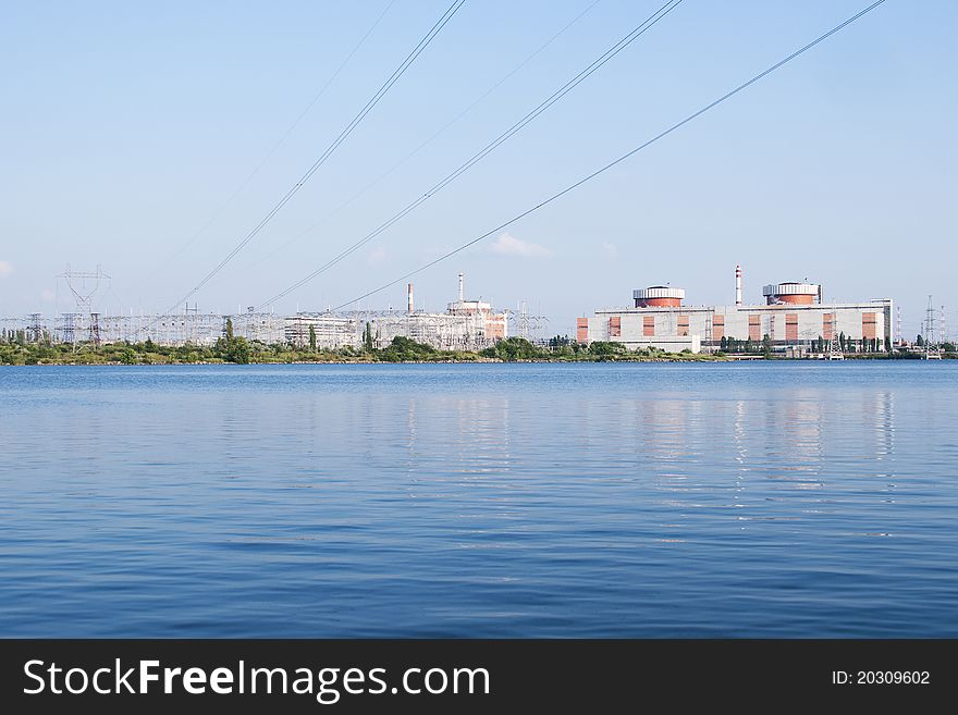Nuclear power plant in South Ukraine