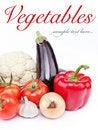 Free Seasonal  Fresh Vegetables Stock Photos - 20312563