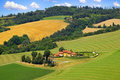 Free Picturesque Tuscany Landscape With House. Royalty Free Stock Photos - 20318108