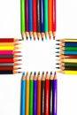 Free Colouring Crayon Pencils Royalty Free Stock Photos - 20318828