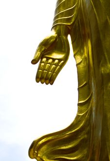 Free The Golden Hand. Stock Photography - 20310722