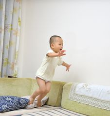 Free Jumping Boy Royalty Free Stock Photos - 20310818