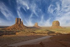 Free Rocks And Colors Of Monument Valley Stock Image - 20311061