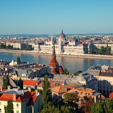 Free Budapest Skyline Royalty Free Stock Photo - 20311205