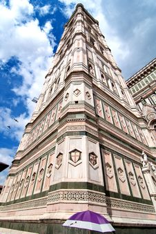 Piazza Del Duomo, Florence Stock Photo