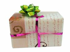 Free Christmas Present Royalty Free Stock Image - 20311536