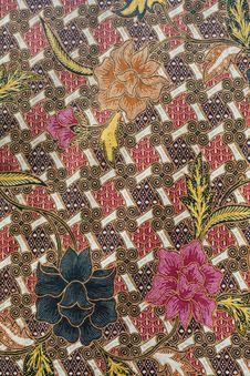 Free Batik Design In Thailand Royalty Free Stock Photography - 20312367
