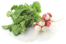 Free Fresh Radishes Isolated Royalty Free Stock Images - 20312489