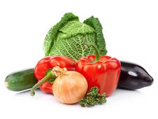Free Raw Organic Vegetables. Stock Image - 20312571