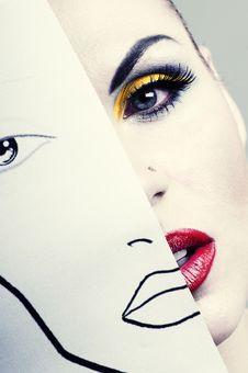 Free Women Face Stock Photos - 20312573