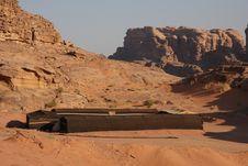 Free Bedouin House In Wadi Rum Stock Photography - 20312782