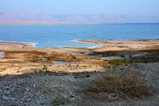 Dead Sea Coast Royalty Free Stock Photos