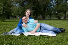 Free Couple Lays Together Stock Photos - 20312863