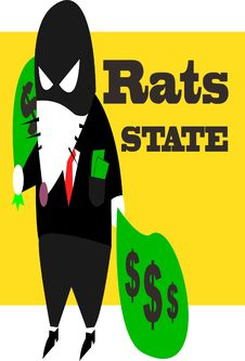 Free Rats State Royalty Free Stock Image - 20313096