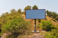 Free Empty Billboard Royalty Free Stock Photography - 20313427