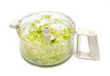 Free Crushed Salad In Plastic Royalty Free Stock Photos - 20313658