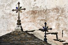 Free Cross And Roof Royalty Free Stock Image - 20313906