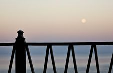 Free Fence At Dawn Royalty Free Stock Photography - 20313967