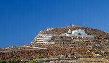 Free Folegandros Island Church Stock Photography - 20314222