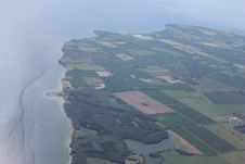 Free Flight Over Denmark Stock Photography - 20314342