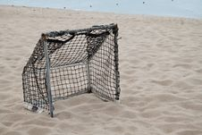 Free Soccer Goal. Royalty Free Stock Photos - 20314828