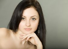 Free Beautiful Brunette Girl Royalty Free Stock Image - 20315326