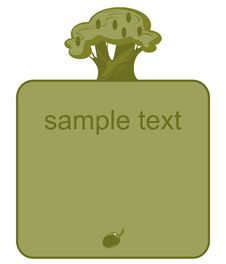 Free Label Olive  4 Royalty Free Stock Image - 20315566